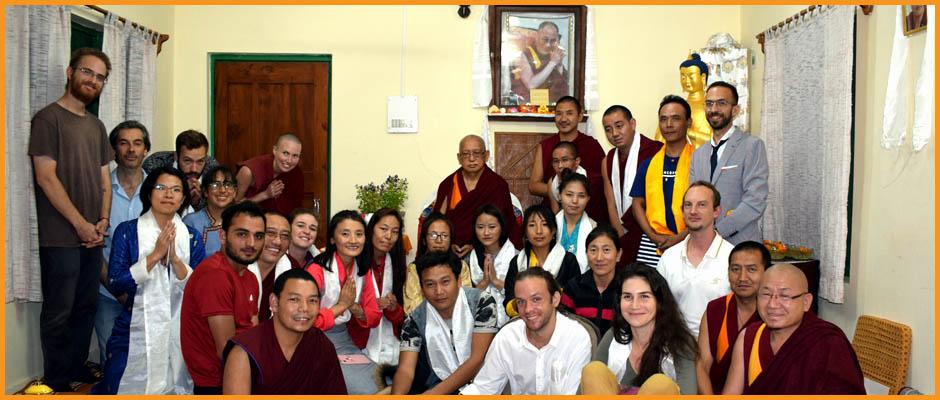 Visit of H.E. Lama Zopa Rinpoche