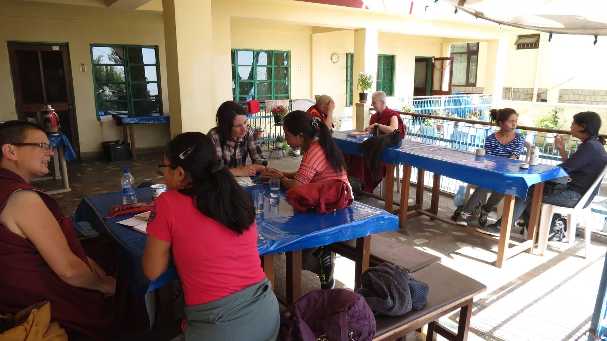 Tibetan Studies at the LRZTP yard